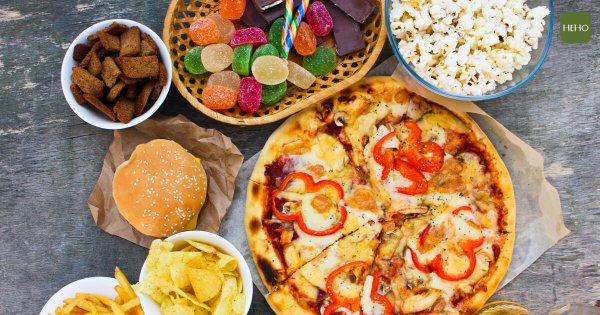 垃圾食物讓身體發炎