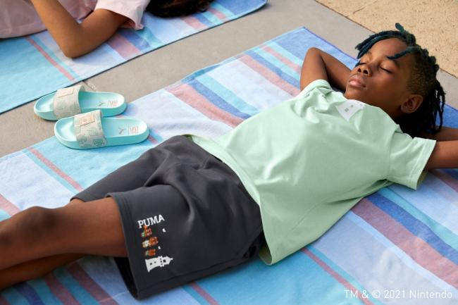 流行系列AC短袖T恤 NT$1,080、流行系列AC短褲, NT$1,280