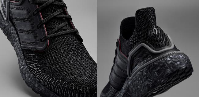 adidas X James Bond主打配色於鞋舌、後跟綴有007字樣