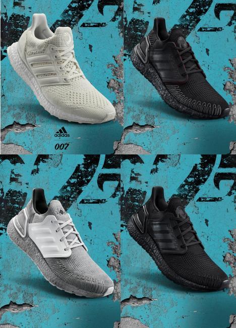 致敬007龐德傳奇﹗ adidas打造特務專屬裝備adidas X James Bond
