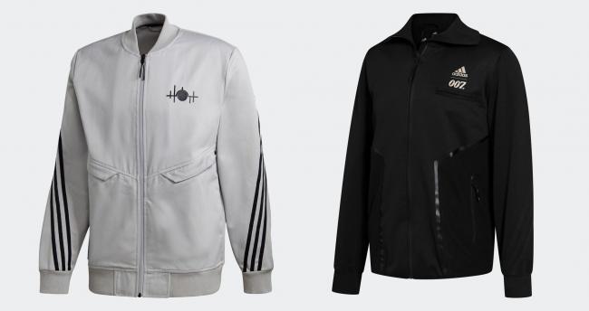 adidas X James Bond 同步推出聯名系列服飾單品,圖為飛行外套