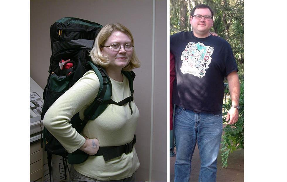妻子用跑步感動150公斤丈夫   聯合減肥82公斤
