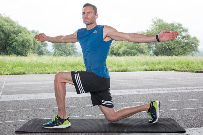 runner's muscle training