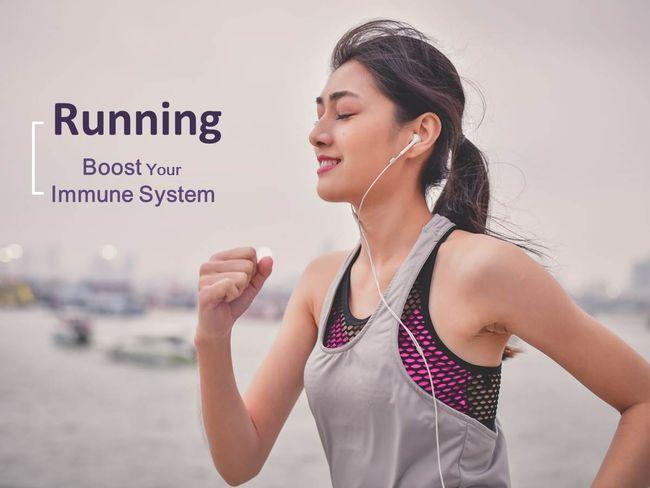 跑步增加免疫力