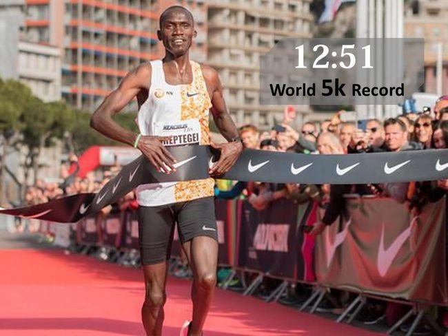 Joshua Cheptegei打破5K世界紀錄
