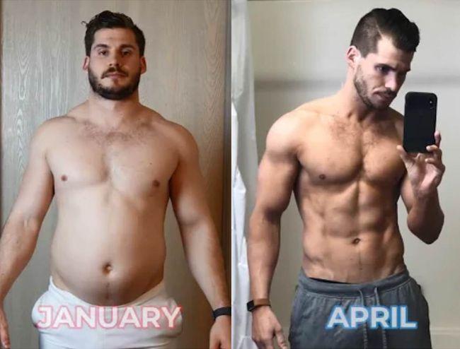 3個月減21公斤