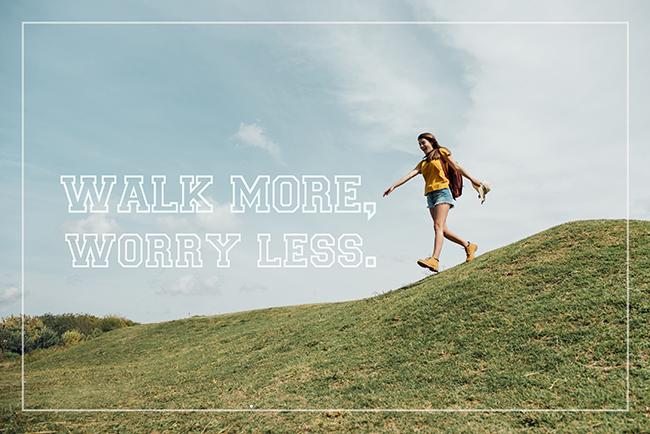 步行變成有效鍛鍊的關鍵