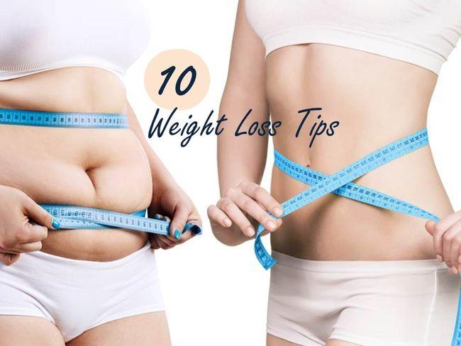 10個減肥實用秘訣
