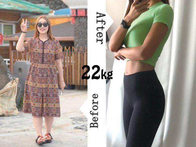 韓國人氣網紅減肥22公斤