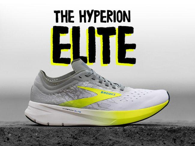波馬冠軍鞋BROOKS碳纖維跑鞋HYPERION ELITE