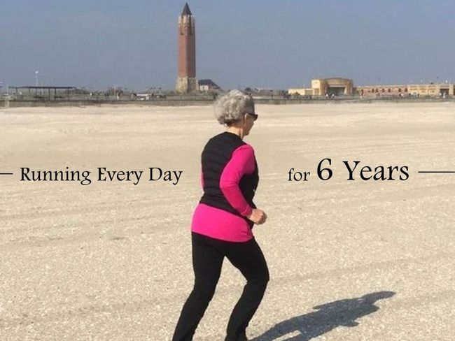 美國Carole Forman阿嬤年跑量直指1600K