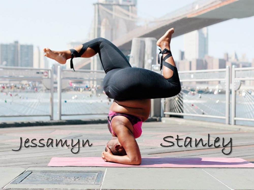 瑜伽網紅Jessamyn Stanley
