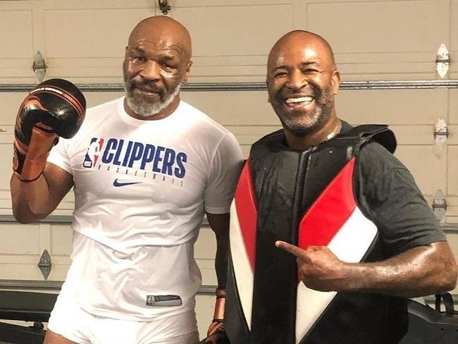 Tyson日常拳擊訓練