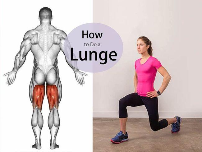 跑者強化臀腿必練弓箭步
