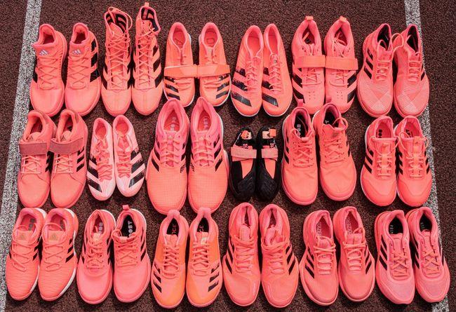 adidas集結41種鞋款推出東奧限定粉色