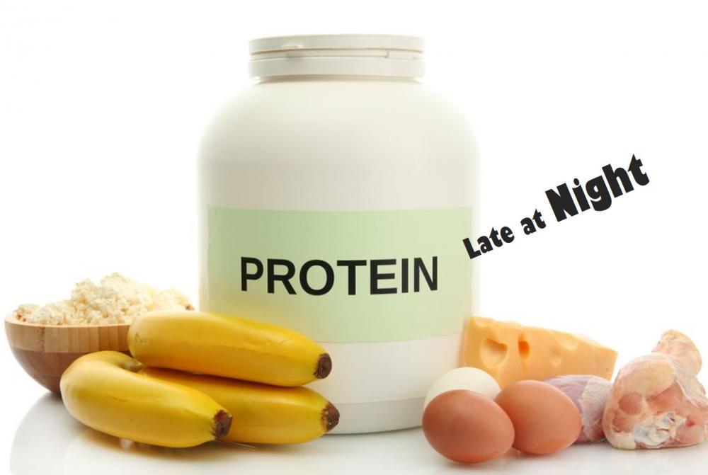 睡前補充蛋白質