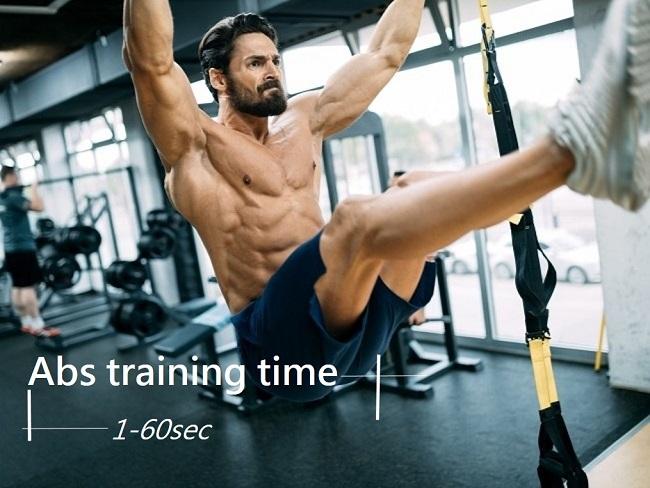 腹肌訓練組間休息時間