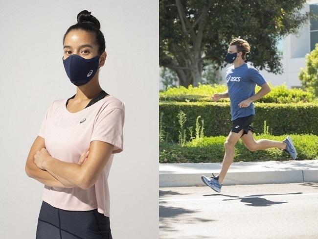 ASICS即將推出跑步口罩