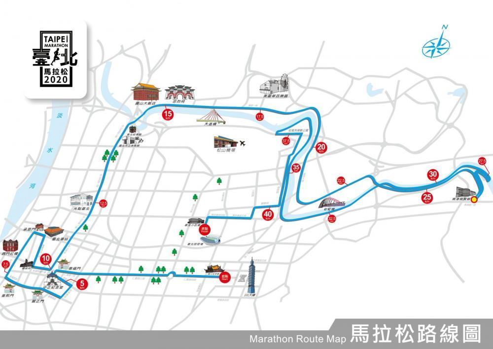 2020 台北馬拉松