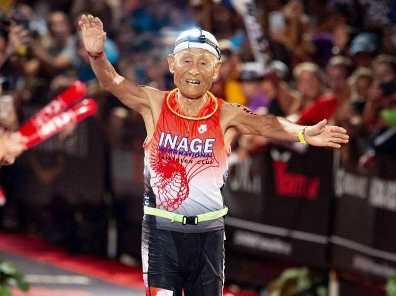 87歲超鐵鐵人稻田弘列入世界紀錄
