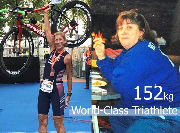 Sue Reynolds減肥後成世界級鐵人三項選手