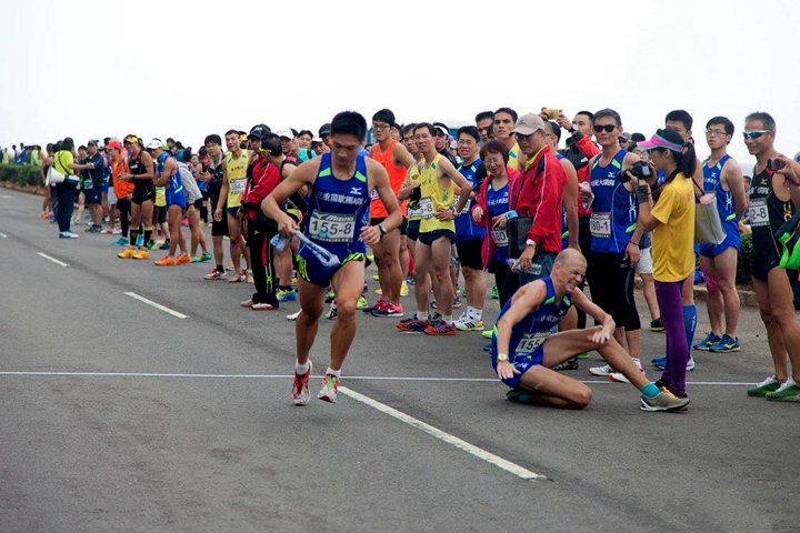 2014 MIZUNO馬拉松接力賽(圖片來源:don1don)