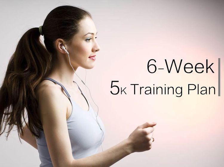 給初跑者的六週5K跑步訓練計畫