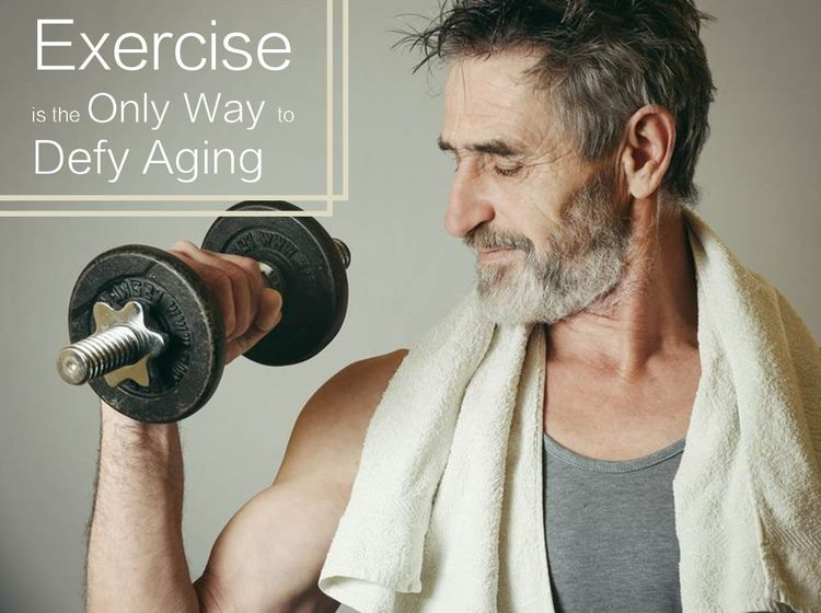 運動才是抵抗衰老的唯一途徑