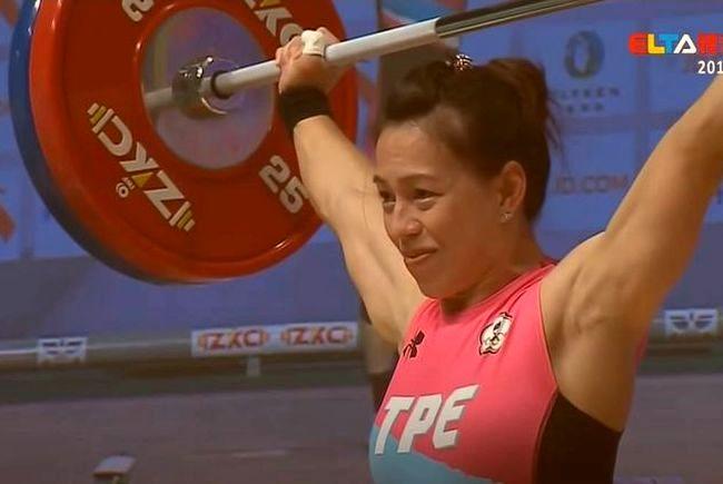 郭婞淳抓舉110公斤成功打破世界紀錄