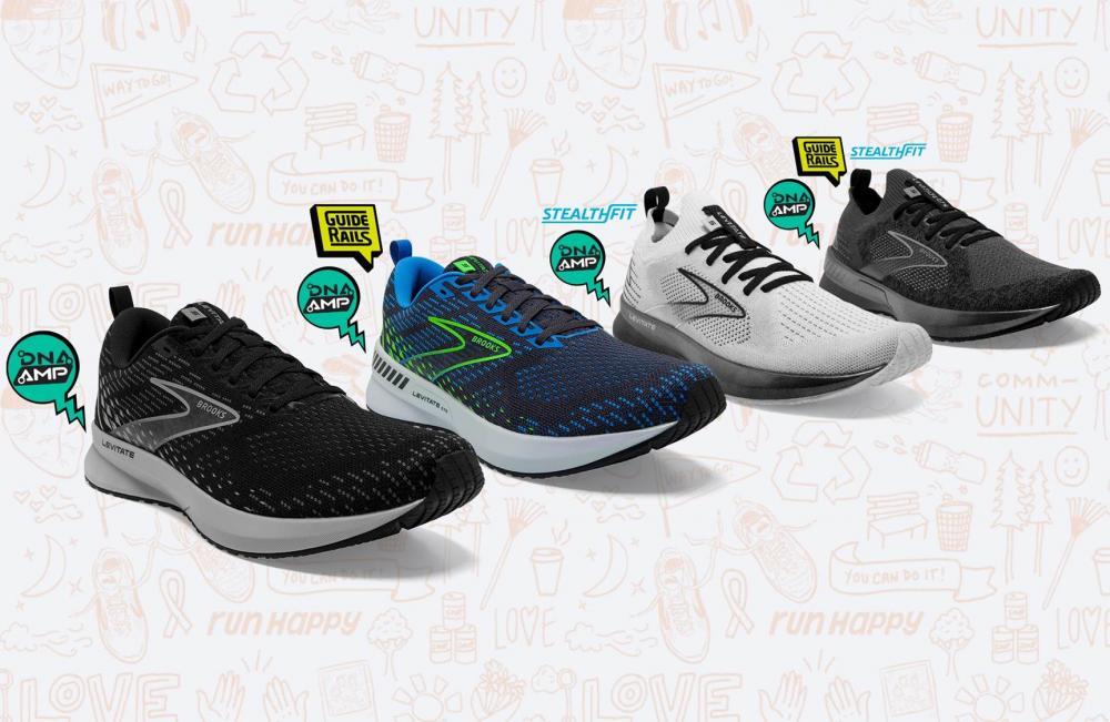 一款跑鞋 4 種選配! 超彈力 BROOKS LEVITATE 5 加入服貼楦款
