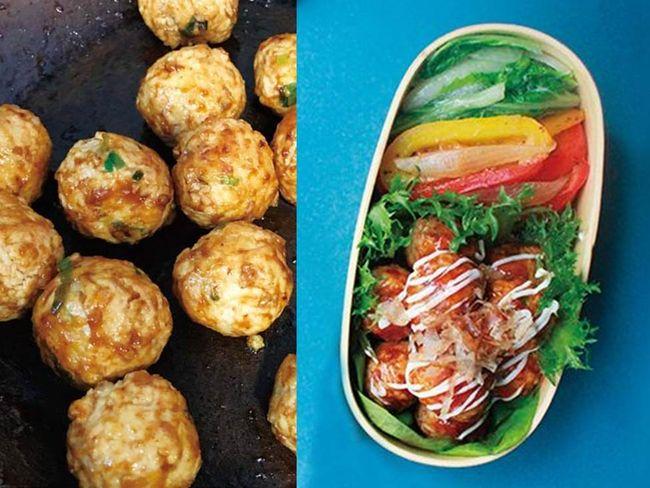 章魚燒風味雞肉丸增肌餐