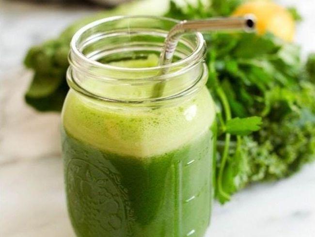 綠色蔬果汁能量飲