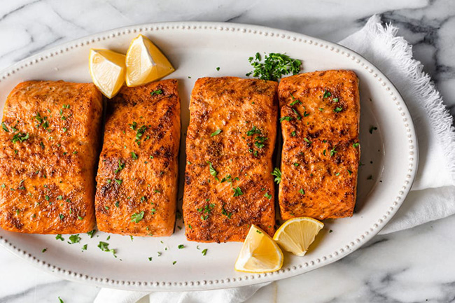 氣炸鍋鮭魚料理